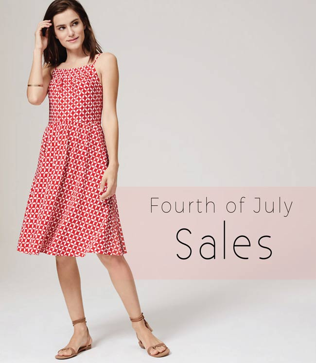 Best Fourth of July Sales 2015