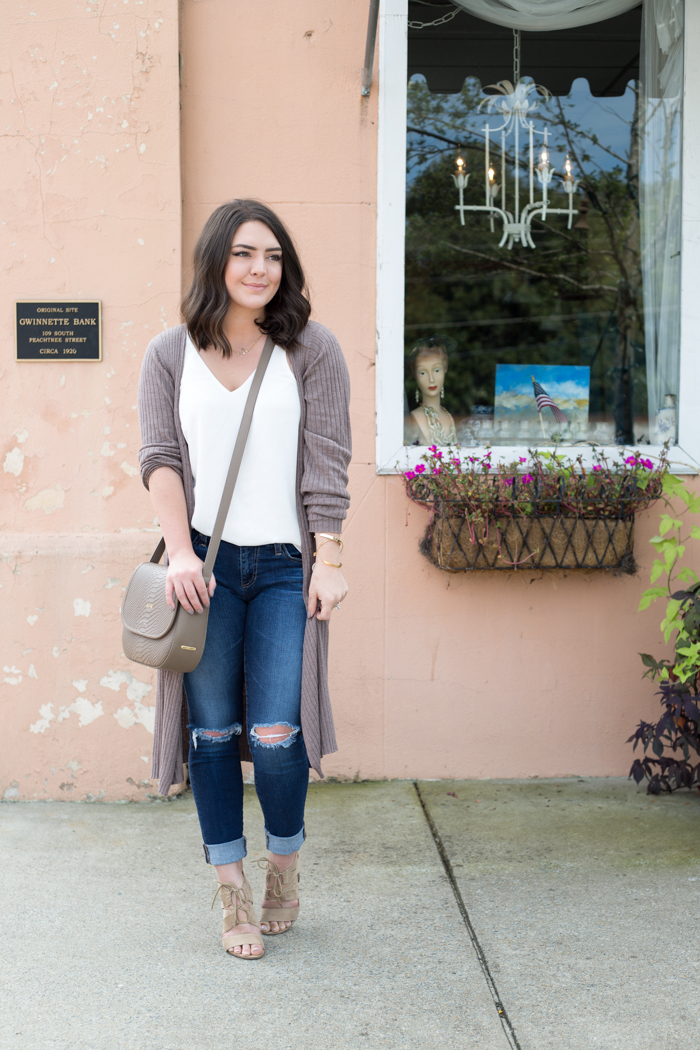 Fall Transitions- The Longline Cardigan - via @maeamor