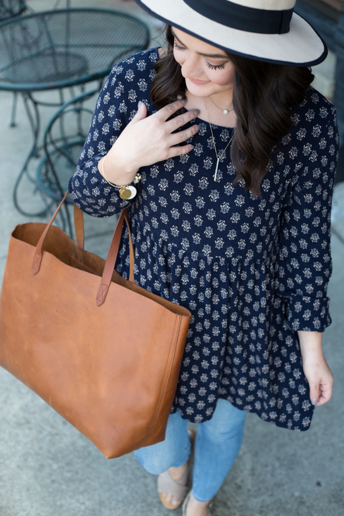 babydoll tunic with jeans - via @maeamor